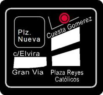 Mapa Pub Ágora Granada.