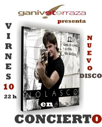 Concierto de Nolasco en Ganivet Terraza