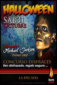 Halloween 2009 en Pub La Decada