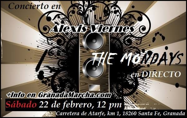 The Mondays en Alexis Viernes