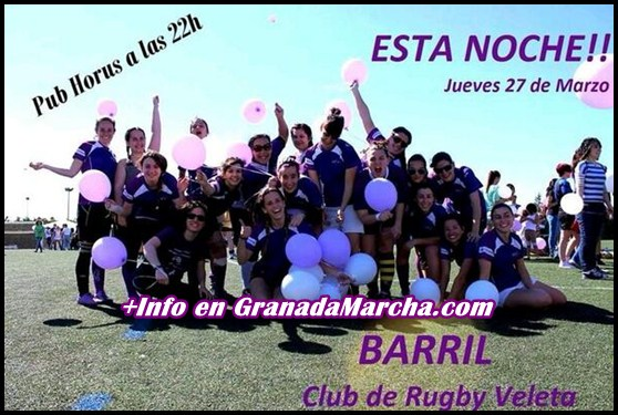 Barril Universitario Club de Rugby Femenino, Veleta