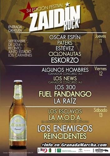 Zaidin Rock 2014 - 34 Edición