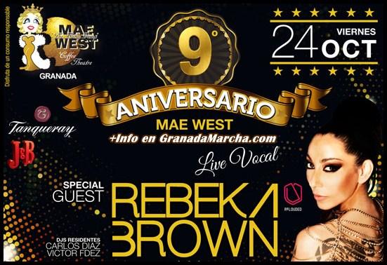 9º Aniversario de Discoteca Mae West