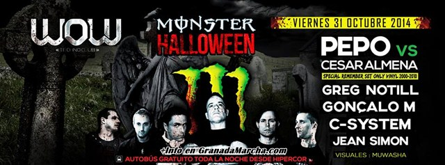 Halloween 2014 en Sala Wow