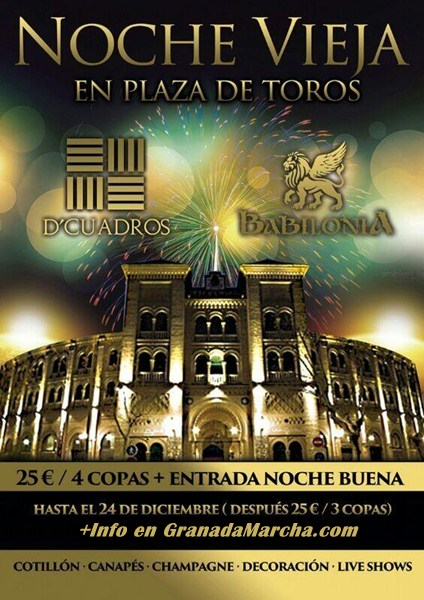 Nochevieja 2014 en D'Cuadros y Babilonia