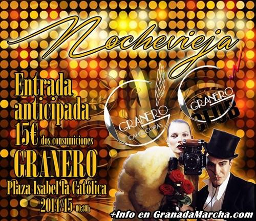 Nochevieja 2014 en Pub Granero