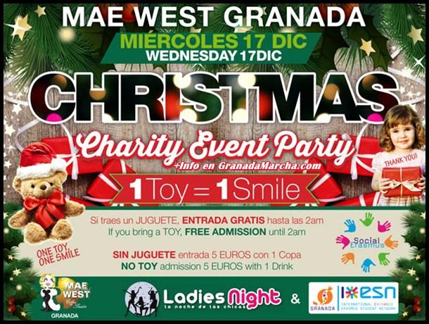 1 regalo 1 sonrisa en Mae West Granada by Ladies Night