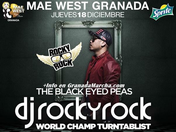Jueves 18 Diciembre, Mae West Granada con Rocky Rock