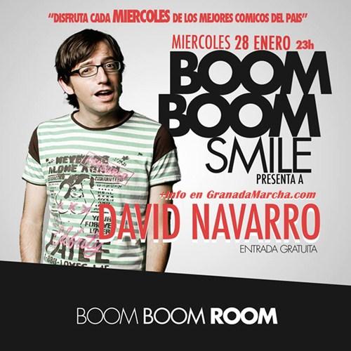 David Navarro en Boom Boom Room Granada