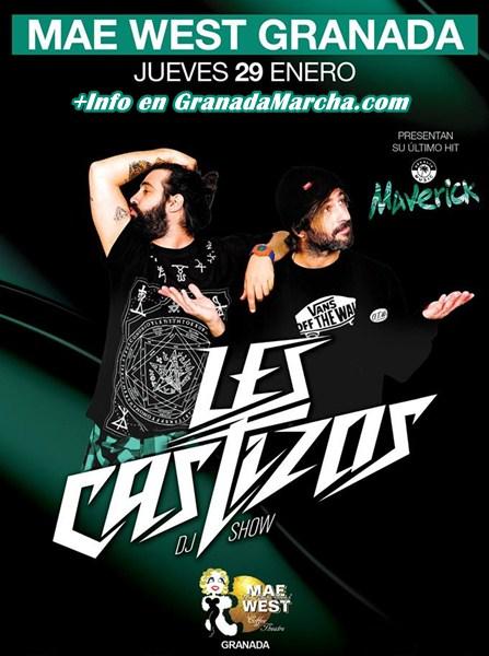 Les Castizos presentan Maverick en Mae West Granada