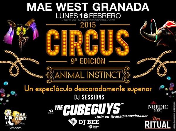 Circus 2015 Mae West Granada