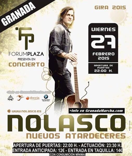 Nolasco en Discoteca Forum Plaza Granada
