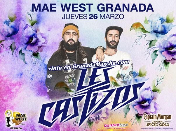 Les Castizos en Mae West Granada, Jueves 26 Marzo
