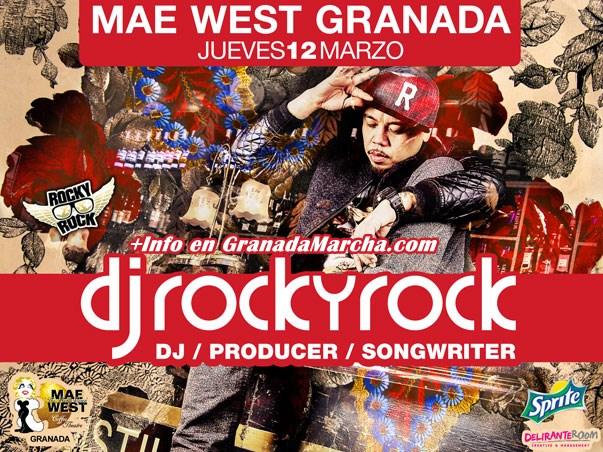 Jueves en Mae West Granada con Dj Rocky Rock