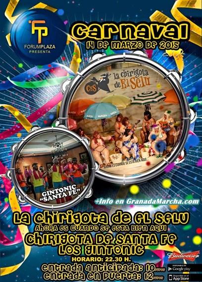 Sábado de Carnaval en Forum Plaza