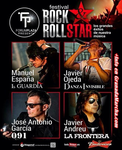 Rock & Roll Stars en Forum Plaza, Granada