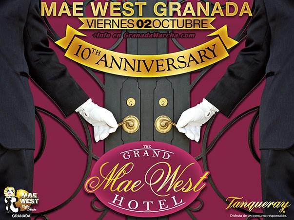 Mae West Granada 10 Aniversario