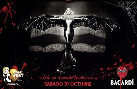 Halloween Mae West Granada 2015