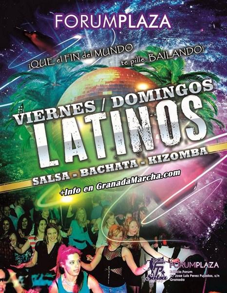 Viernes y Domingos Latinos Forum Plaza