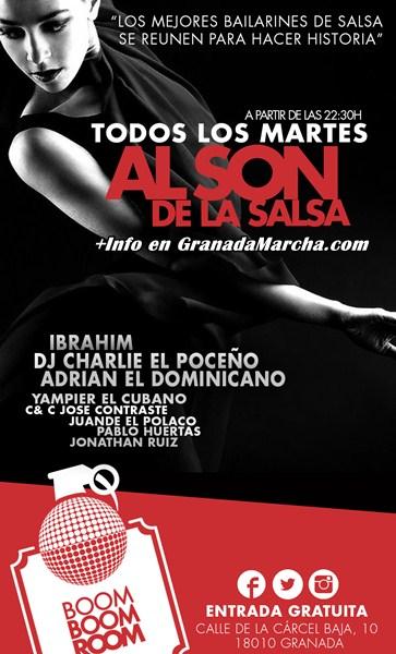 Clases de salsa discotecas en Granada