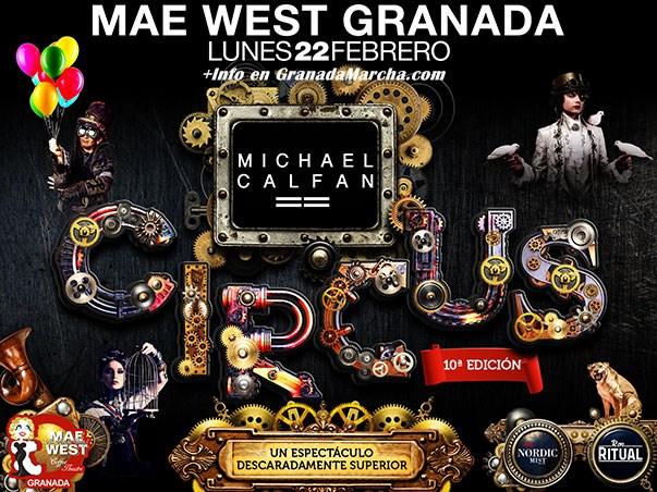 Mae West Circus 2016