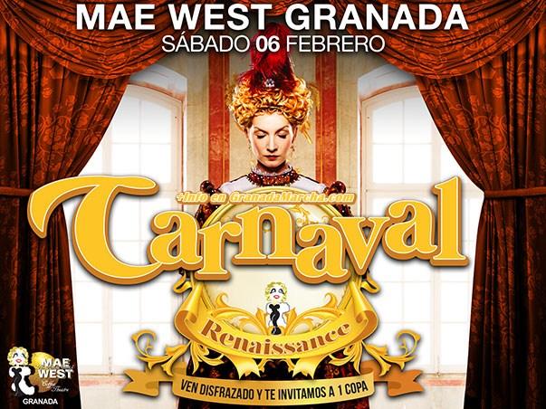 Carnaval 2016 en Mae West Granada