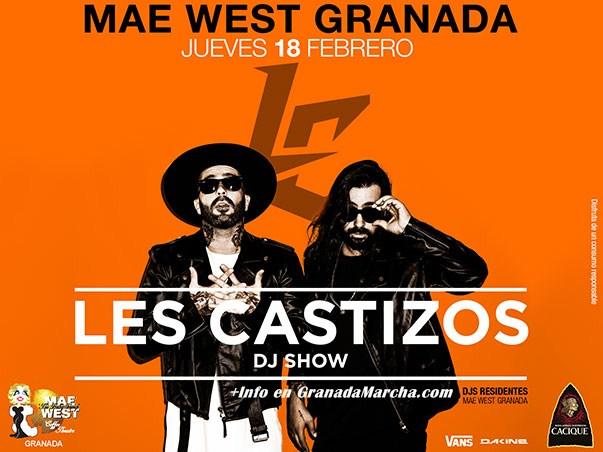 Les Castizos 18 Febrero 2016 en Mae West Granada