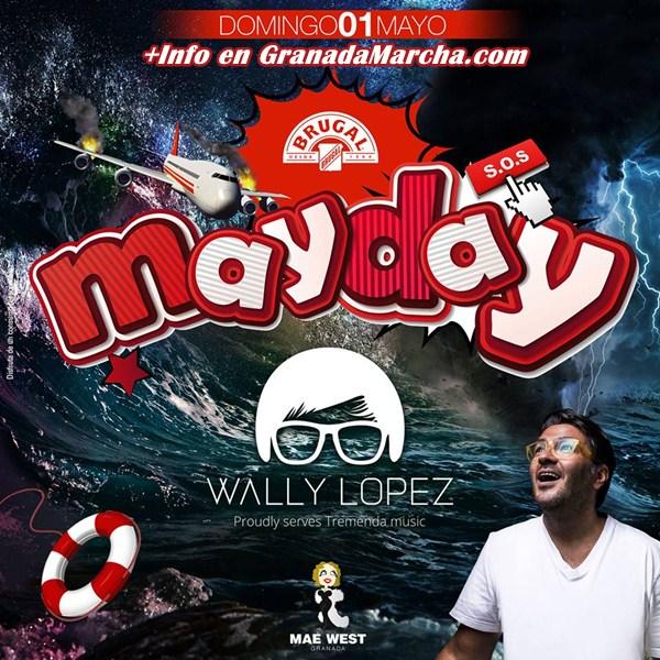 Wally López en Mae West Granada. 1 de Mayo de 2016