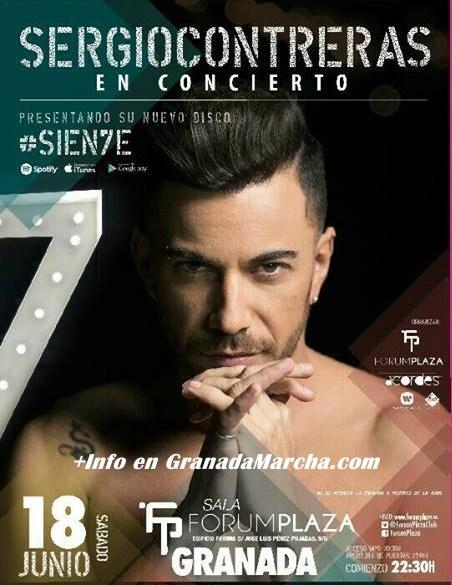Sergio Contreras concierto en Granada