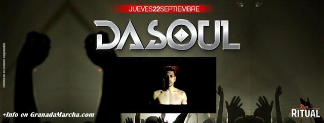 Dasoul en Septiembre '16 en Mae West Granada