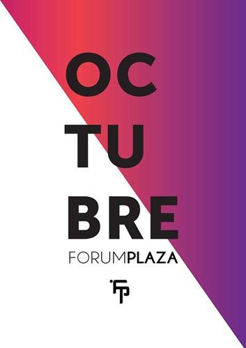 Programación Forum Plaza Octubre 2016
