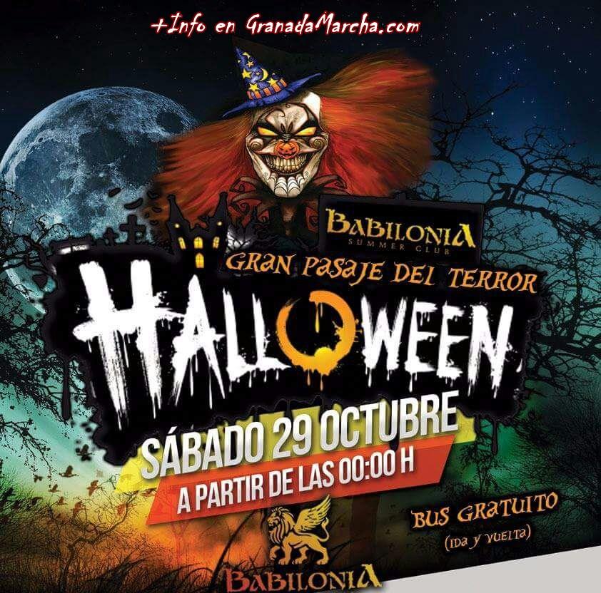 Halloween 2016 Embrujo Copas Babilonia