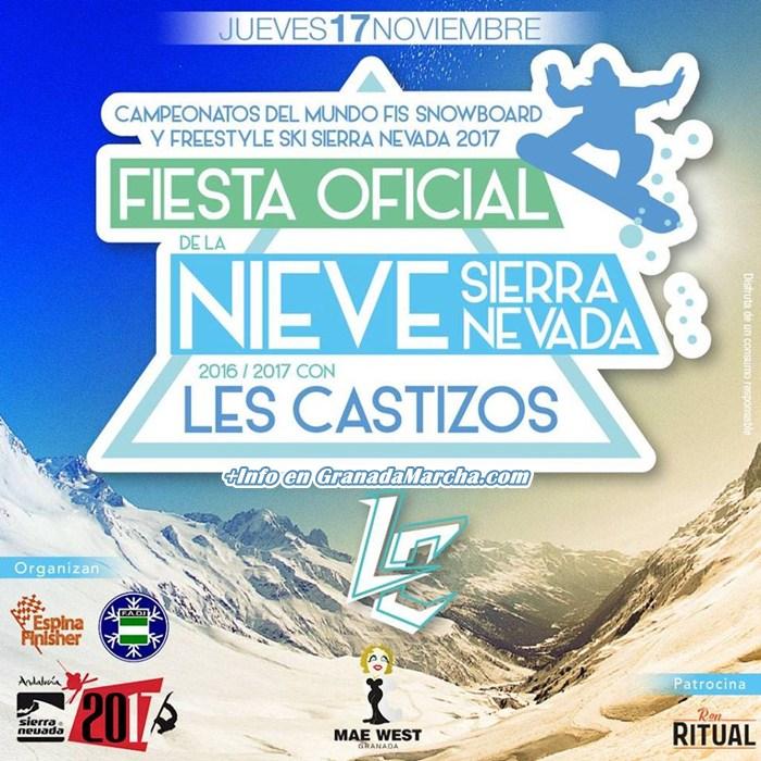 Fiesta de la Nieve en Mae West Granada con Les Castizos