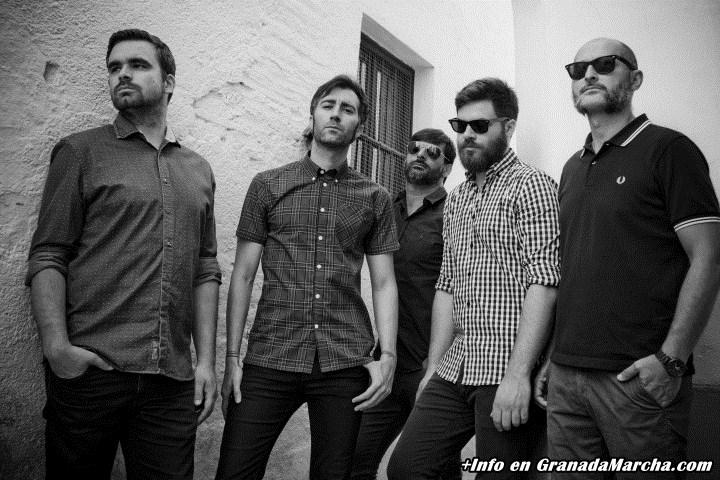 EL Hombre Garabato en concierto en Granada Planta Baja