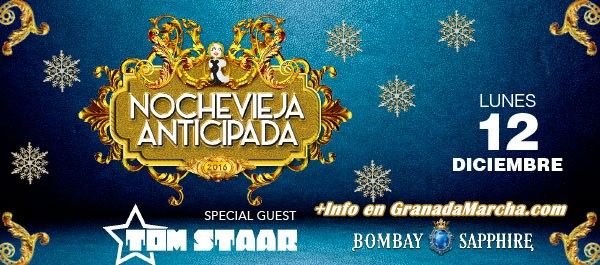 Nochevieja anticipada en Mae West Granada