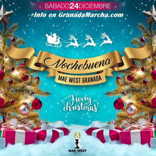 Nochebuena 2016 en Mae West Granada