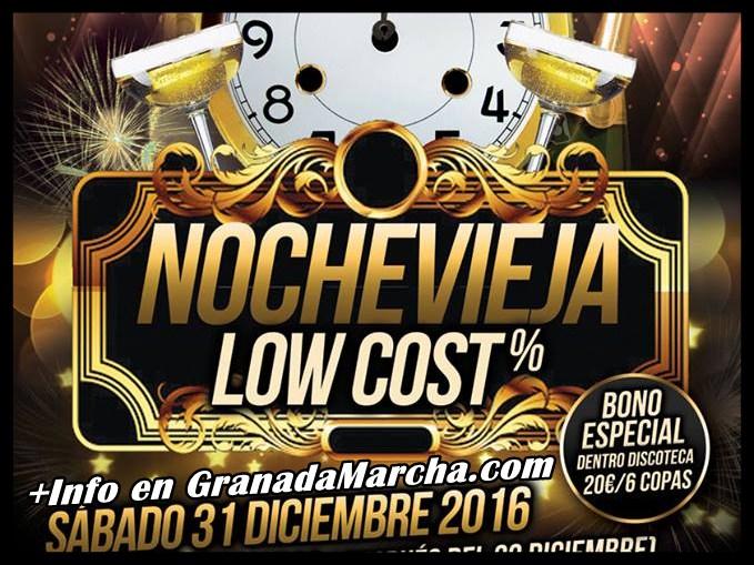 Nochevieja Low Cost en El Embrujo de Granada