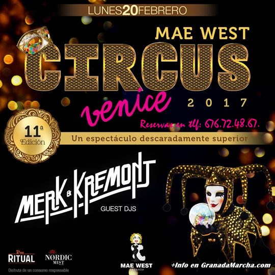 Mae West Circus 2017
