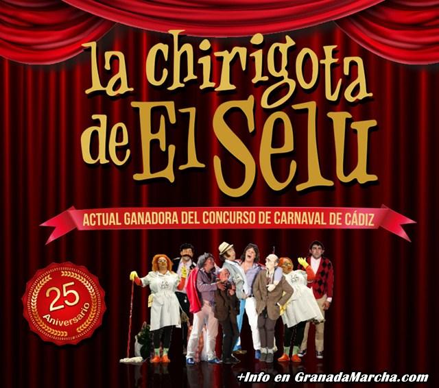 Especial Chirigota de El Selu en Mae West Granada