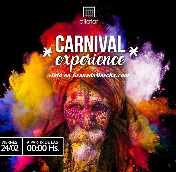 Carnaval en Aliatar, Granada