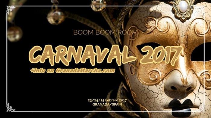 Carnaval 2017 en Boom Boom Room