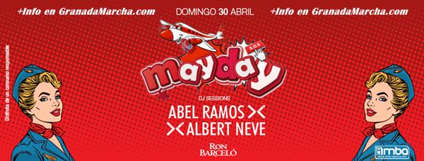 Fiesta MayDay en Mae West Granada, Domingo 30 de Abril de 2017