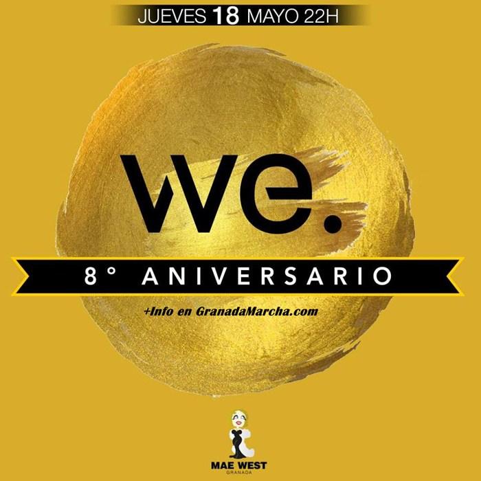 8º Aniversario Gimnasio We Granada