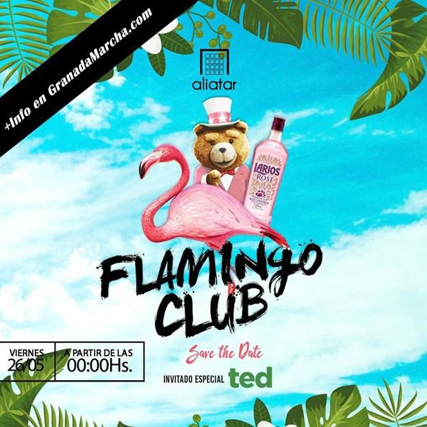 Fiesta Flamingo + Ted en Sala Aliatar Granada