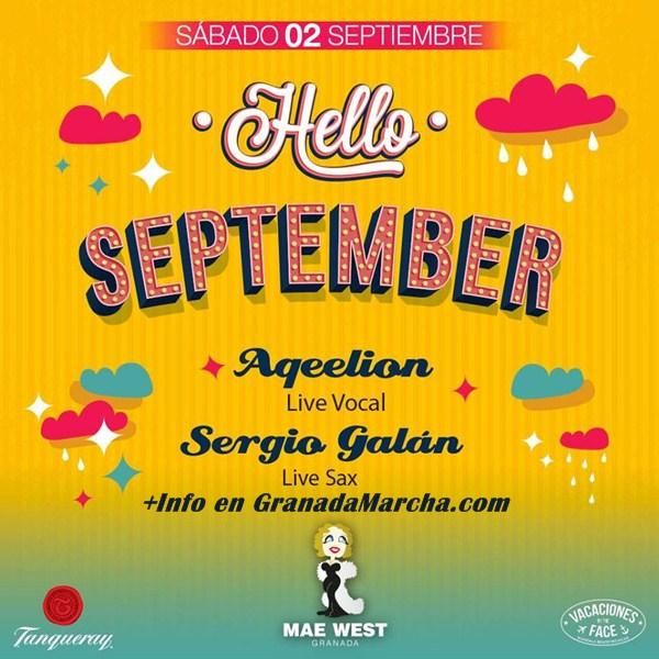 Hello September, Mae West Granada da la bienvenida a Septiembre