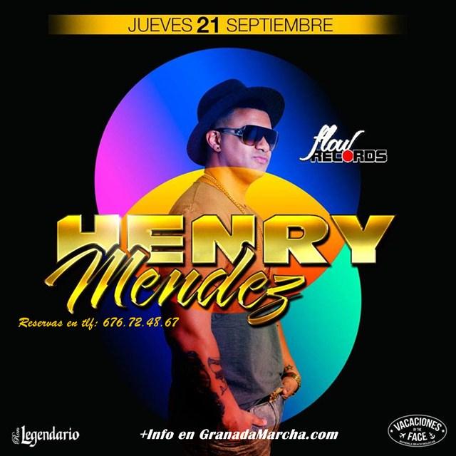 Henry Mendez En Mae West Granada Septiembre 2017