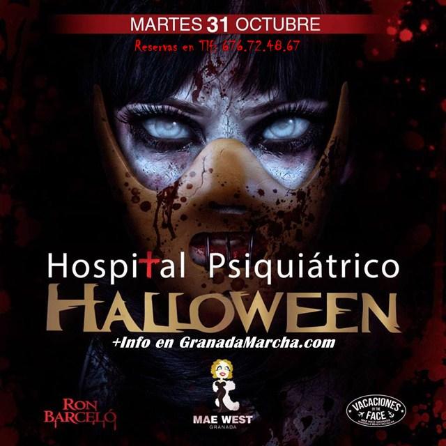 Halloween 2017 en Mae West Granada